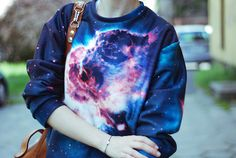 Galaxy sweater looooooove it