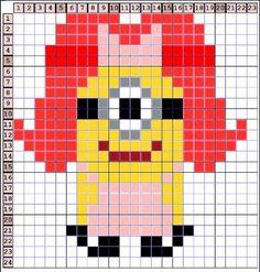 Free Minion Perler Bead Patterns