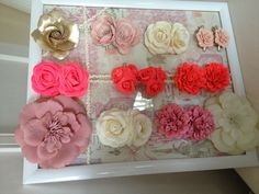 """How to organise girls hair clips slides. Amazed at the result. I thought it would end up on """"nailed it"""". So chuffed!"""