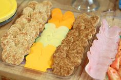 Mickey Mouse make-your-own sandwich platter includes Mickey Silhouette pieces of bread, cheese and lunch meat!