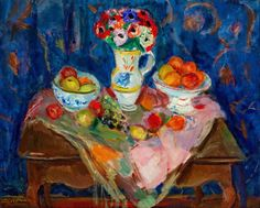 Charles Camoin was a French painter associated with the Fauve and friend of Matisse. French, 1879 - 1965 Nature Morte
