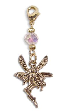 Charm Small Gold - Fairy