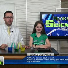 """Ever see water walk? Jason Lindsey aka """"Mr. Science"""" with Hooked on Science and a kid scientist explain the science behind capillary action by using a few ingredients from around the house. Go to http://www.hookedonscience.org/nextgenerationsciencestandards.html for the FREE NGSS experiment guide."""