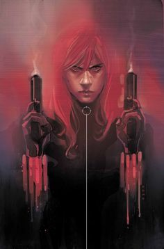 "comicbookartwork: "" Black Widow """