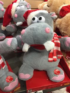 A Stuffed Hippo That Sings The Song I Want A