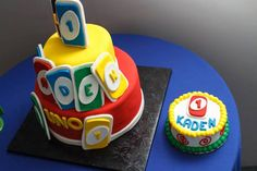 """Uno"""" Themed First Birthday Party"""