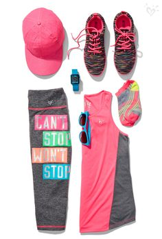 In our made-to-match, high-performance activewear, sneakers and accessories, you will be positively unstoppable!