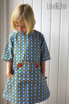 The Louisa dress pattern