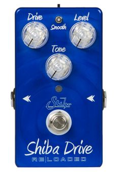 "CustomGuitarGear.com - Suhr Guitars ""Shiba Drive"" ReLoaded Overdrive Pedal, $199.00 (http://www.customguitargear.com/suhr-guitars-shiba-drive-reloaded-overdrive-pedal/)"