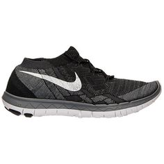 Nike Free 3.0 Flyknit Running Shoe ($160) ❤ liked on Polyvore featuring shoes, athletic shoes, shoe club, women, womens athletic shoes, nike, lightweight shoes, nike shoes and famous footwear