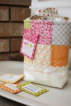 Birthday Bag  Pattern Only by sweetwaterscrapbook on Etsy, $3.00