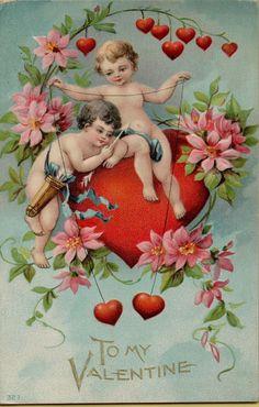 Vintage Valentines Postcard Embossed 35 | eBay
