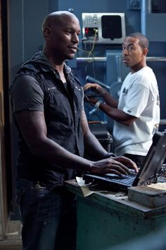Fast Five: Tyrese Gibson (Roman Pearce), Ludacris (Tej Parker)