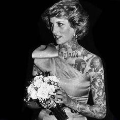 lady diana tattoo