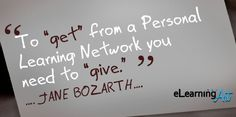 Do you have a Personal Learning Network (PLN)? How did you find it?