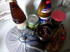 Gruenezwerge: Zero Waste Zero Waste, Drinks, Bottle, Gnome House, Drinking, Beverages, Flask, Drink, Jars