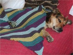 Diagonal Baby Blanket Free Knitting Pattern at Jimmy Beans Wool