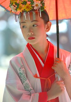 Shinto shrine girl. Japan. IMG_0233-2-200915 by papageno2236 on Flickr.