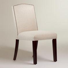 Linen Abbie Dining Chair | World Market