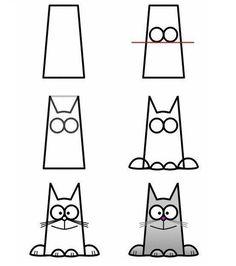 #çizim#kolayçizimler#basitçizimler#resim#görselsanatlar#okulöncesi#ilkokul#okulöncesietkinlik#draw#drawing#cat#gato#kedi#kediçizimi