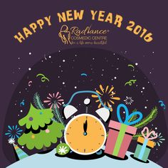 Wishing You All a Happy New Year..  #HappyNewYear #NewYearEve #Party #HealthyLife #Food #Music #Fun #RadianceCosmedicCentre