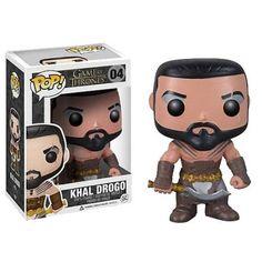 Game of Thrones POP! Vinyl-Figur Khal Drogo 10 cm