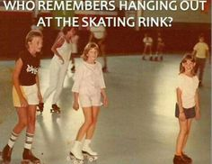 At the Rollercade! I had a couple birthday skate parties there!