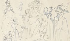 When Disney animated the fable 'Sleeping Beauty' they could never have known that it would become such a beloved classic. Much of the film's success was down to the evil character Maleficent, drawn by Marc Davis, one of the studio's most important animators.