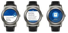 #Android_Wear #Productividad #correo Microsoft Outlook ya funciona en relojes con Android Wear