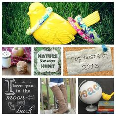 13 amazing posts from the blog Endlessly Inspired in 2013 -- a great collection of crafts, tips and recipes!