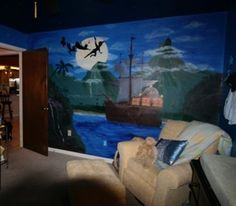 Neverland nursery...it's inevitable. The room I always wanted given to my baby. I will have it some day!