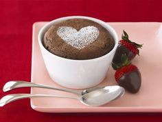 Individual Ghirardelli #chocolate souffles