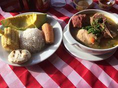 Sancocho antioqueño http://travelingbytes.com/hacienda-el-poblado-delicious-colombian-food/ #travel #Medellin #foodporn