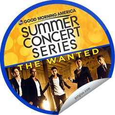Steffie Doll's The Wanted on GMA on August 23! Sticker | GetGlue