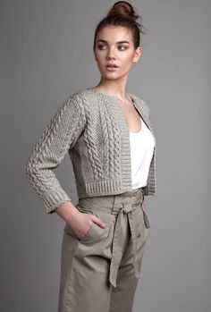 Ideas For Knitting Machine Patterns Pictures Cardigan Au Crochet, Cardigan Pattern, Knit Crochet, Irish Crochet, Knitting Machine Patterns, Knit Patterns, Clothing Patterns, Knit Fashion, Fashion Outfits