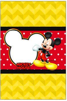 Bala Personalizada Mickey: