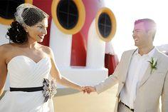 Wedding onboard Disney (Photo: Disney Cruise Line)