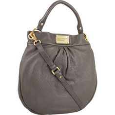 Marc by Marc Jacobs Classic Q Hillier Hobo -Faded Aluminum