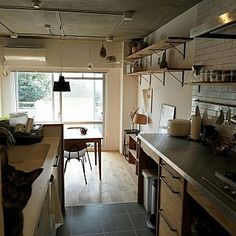 Kitchen/TRUCK/りんご箱/リノベーション/猫と暮らす。/猫とインテリア...などのインテリア実例 - 2017-01-29 02:14:04
