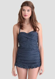 Yvonne Polka Dot One-Piece Swimsuit