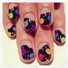 Record art nails