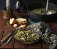 Dalla cucina tradizionale greca un confort food senza pari!! Maiale con sedano e porri in salsa avgolemono!