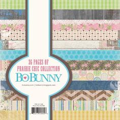 Prairie Chic...a cute new collection from Bo Bunny for 2013...I love the colors!