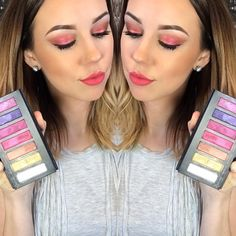 Chelsey's Younique makeup look using Palette 5 in eyes and Soulful Liquid Lipstick