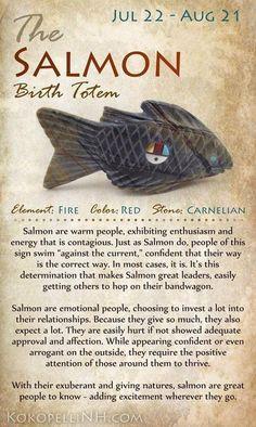 Salmon Birth Totem Animal Spirit Guides, Pics Art, Book Of Shadows, Native American Indians, Native American Totem, Native American Symbols, Native Indian, Nativity, Illustration