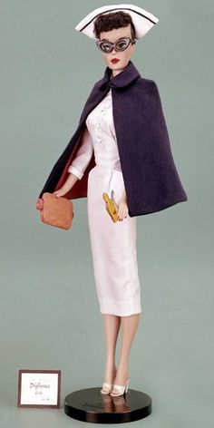 Registered Nurse Barbie from 1961......I love it!