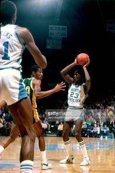 df3c5940 Michael Jordan #23 of the University of North Carolina during a game in  December, 1981.