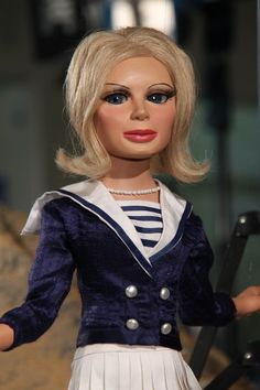Lady Penelope wanders around Tracy Island in Introducing Thunderbirds