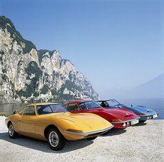 1965 Opel GT Experimental - 1968 Opel GT - 1969 Opel Aero GT   by Auto Clasico