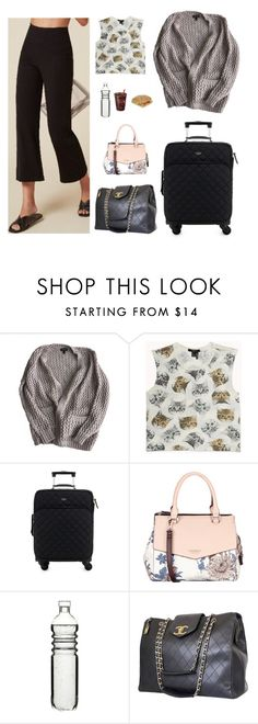 """""""Untitled #1976"""" by tayloremily218 on Polyvore featuring Topshop, Forever 21, Kate Spade, Fiorelli, Dot & Bo and Chanel"""